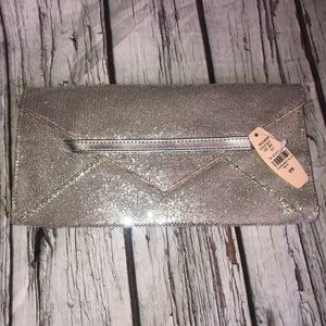 Victoria's Secret sparkly clutch bag